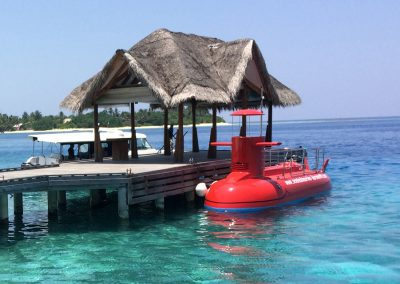 Semisubmarine Maldivi