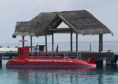Semisubmarine by Agena Marin Kuramathi Island Maldives